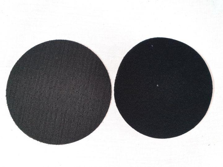 150 mm - mousse velcro plein, épaisseur 11 mm, intermédiaire pour plateau